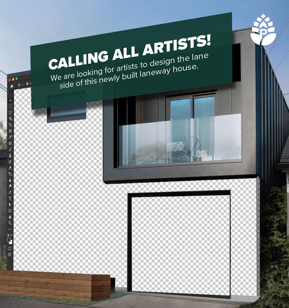 Pine Hill Homes launches call for artists to design new laneway house facade